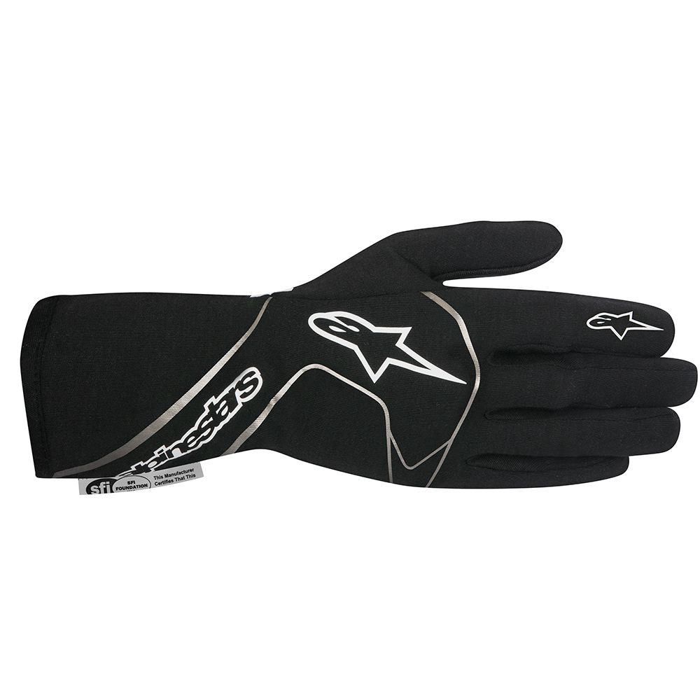 TECH-1 RACE GLOVES - BLACK WHITE.jpg