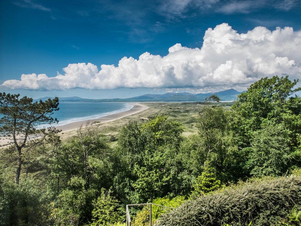 Views from Hafod Wen Cottage