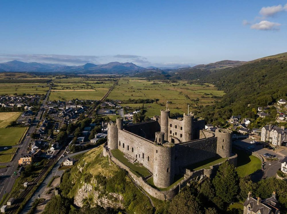 The Area - We are located just outside the historic town of Harlech, renowned for its castle, golf club and beaches. Visit the official Visit Harlech website for more