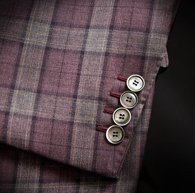 Sartor London genuine horn and mother of pearl buttons