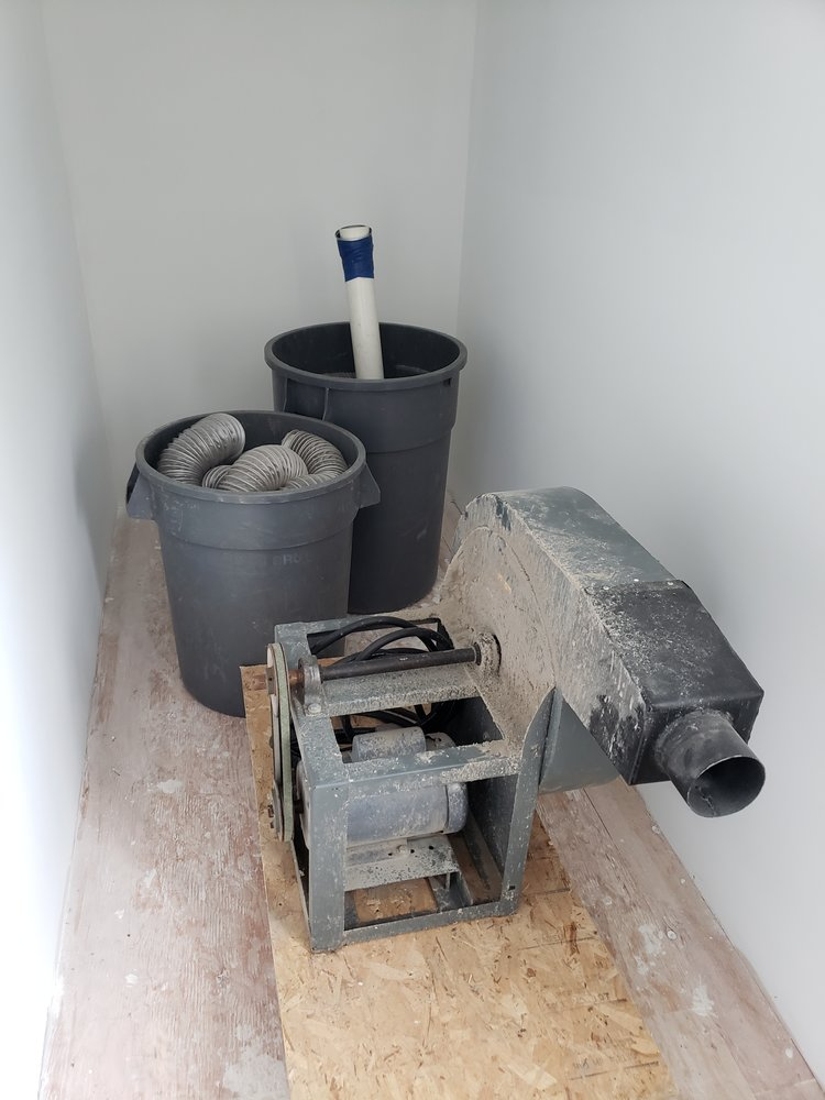 Blown Insulation Removal Vacuum