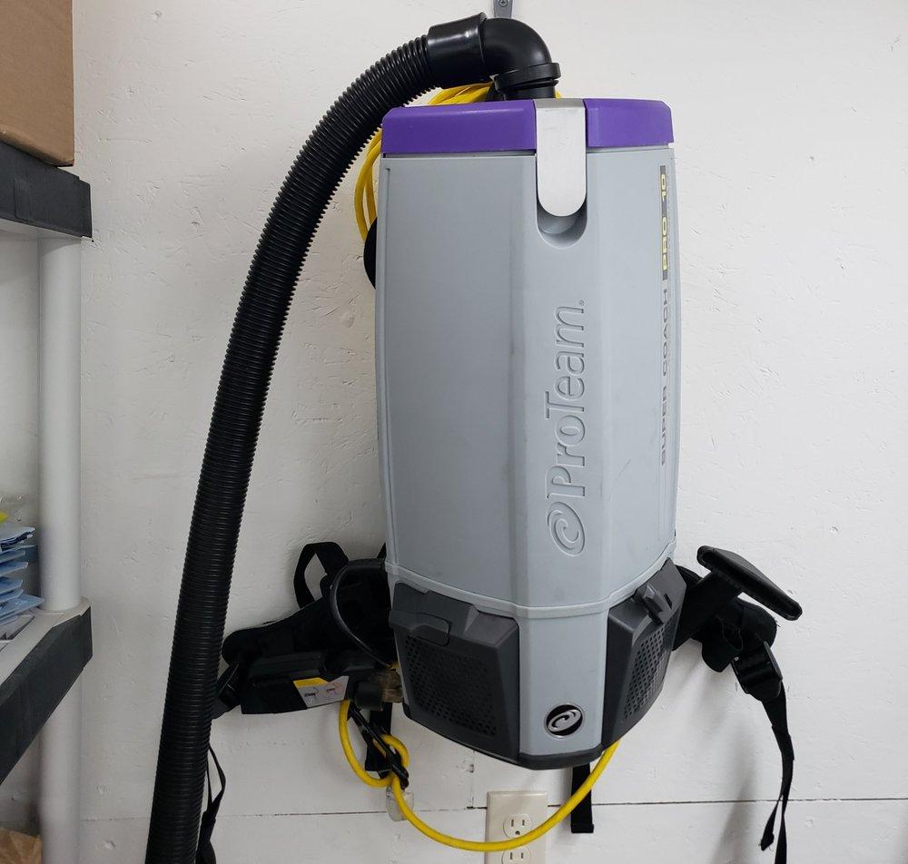 ProTeam Backpack HEPA Vacuum