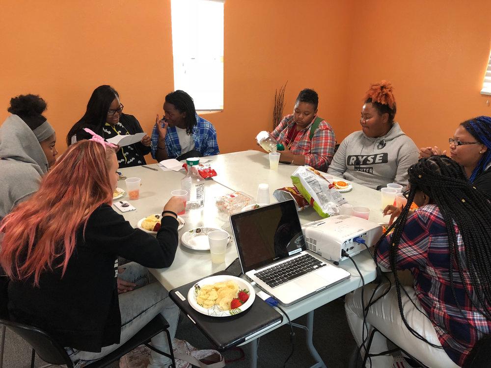Youth-Led Workshop on Gender + Race