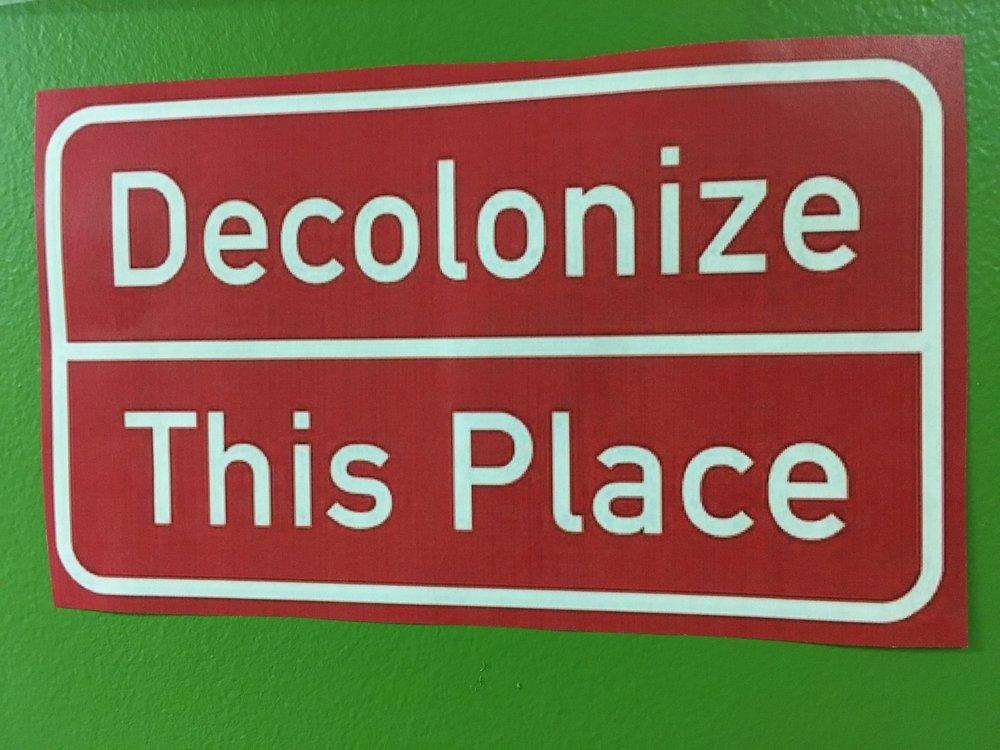 Liberation + Decolonization Dinner