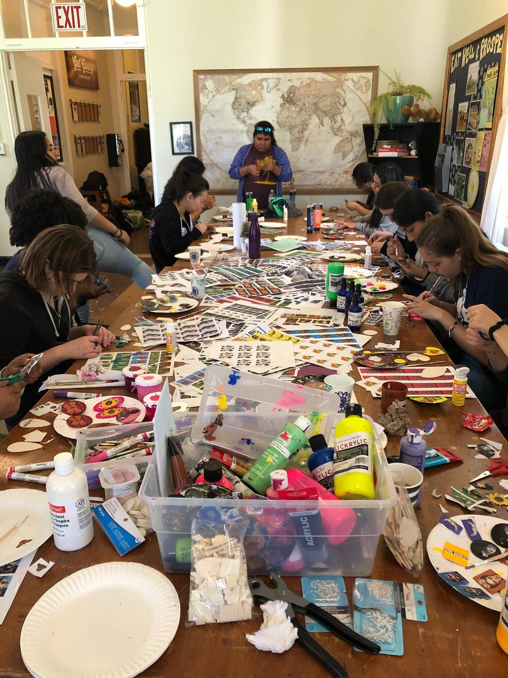 Bay Area Youth Organizing Retreat