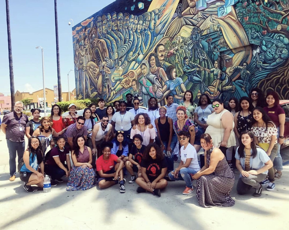 East LA Tour led by Inner City Struggle youth organizers