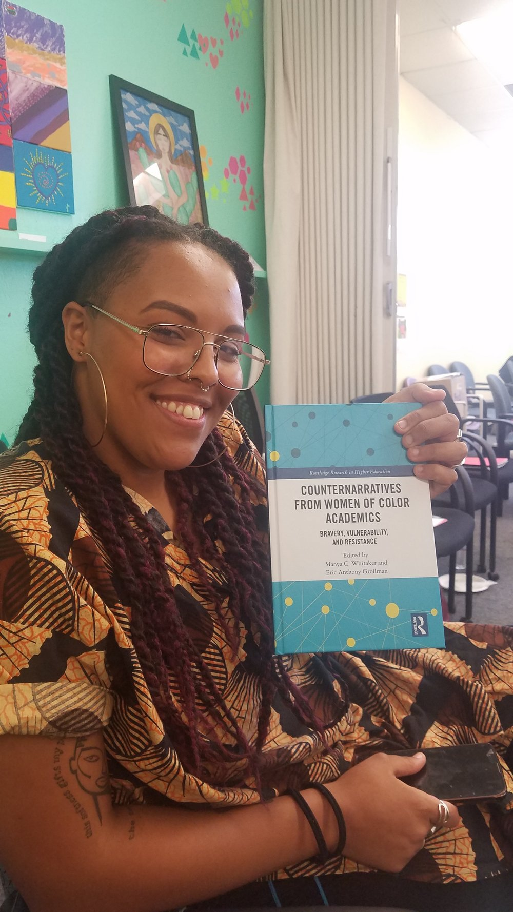 Shoutout to Aja on her First Poem Publication!