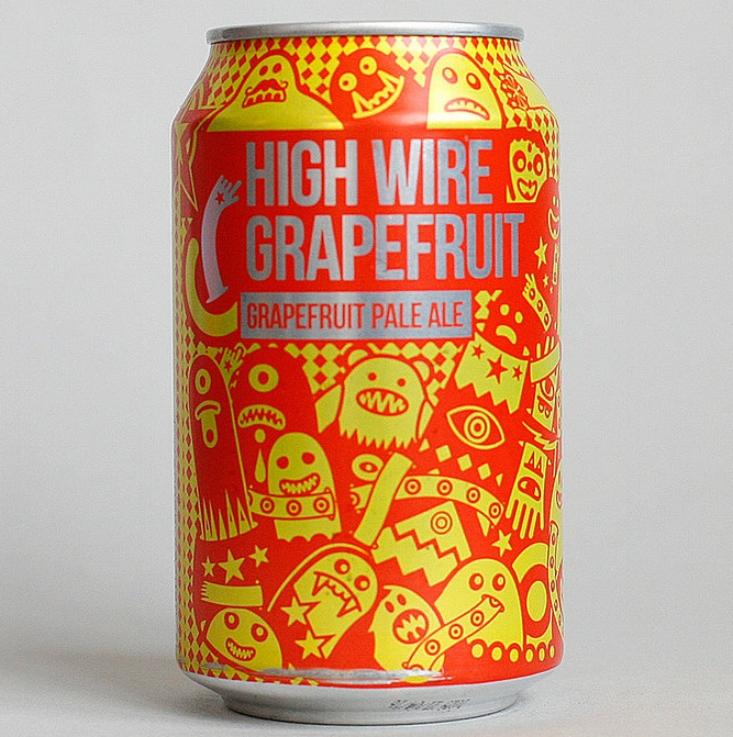 Magic Rock - Highwire Grapefruit, Pale Ale 5.5%