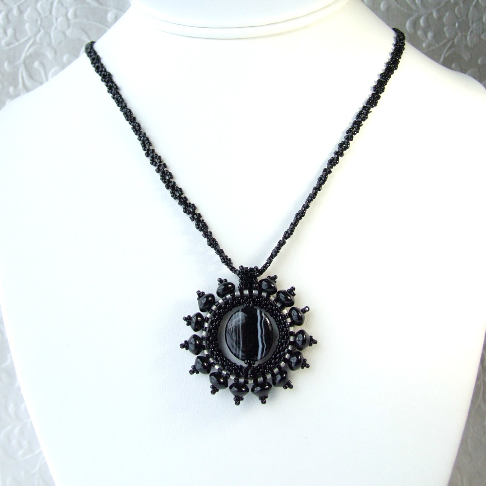 necklace virtual sandi pointe library collections sunburst of