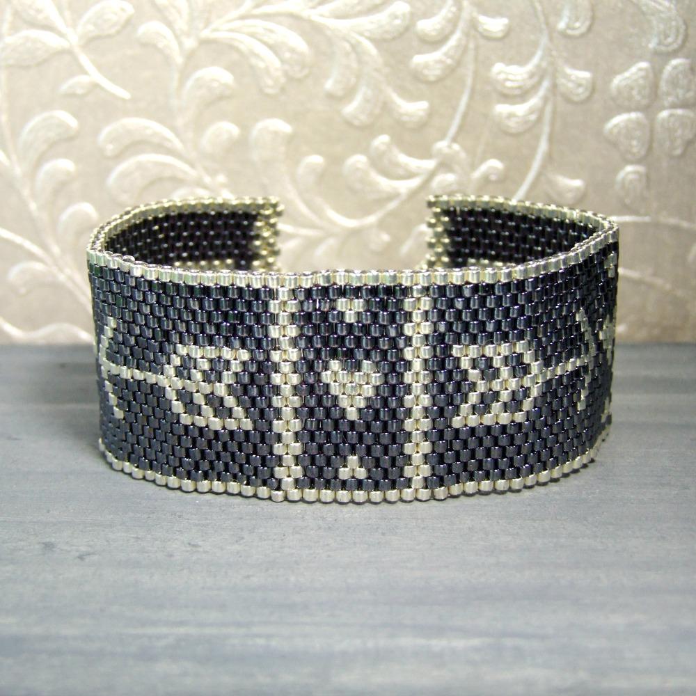 Hearts & Arrows Woven Bracelet