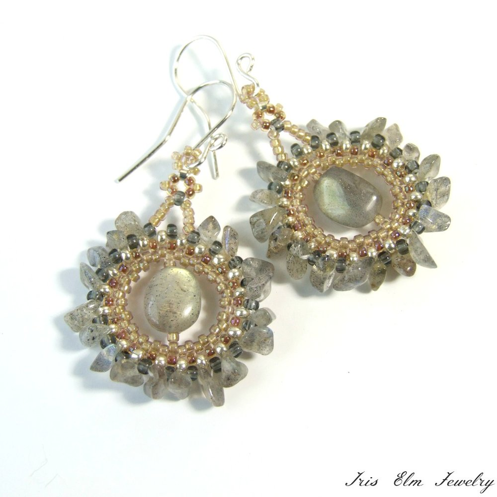 Bohemian Labradorite Earrings