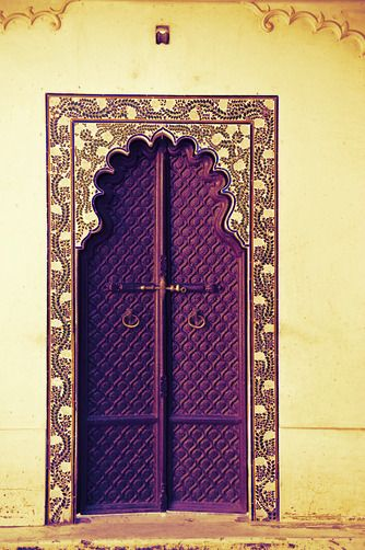 Middle Eastern Door Style