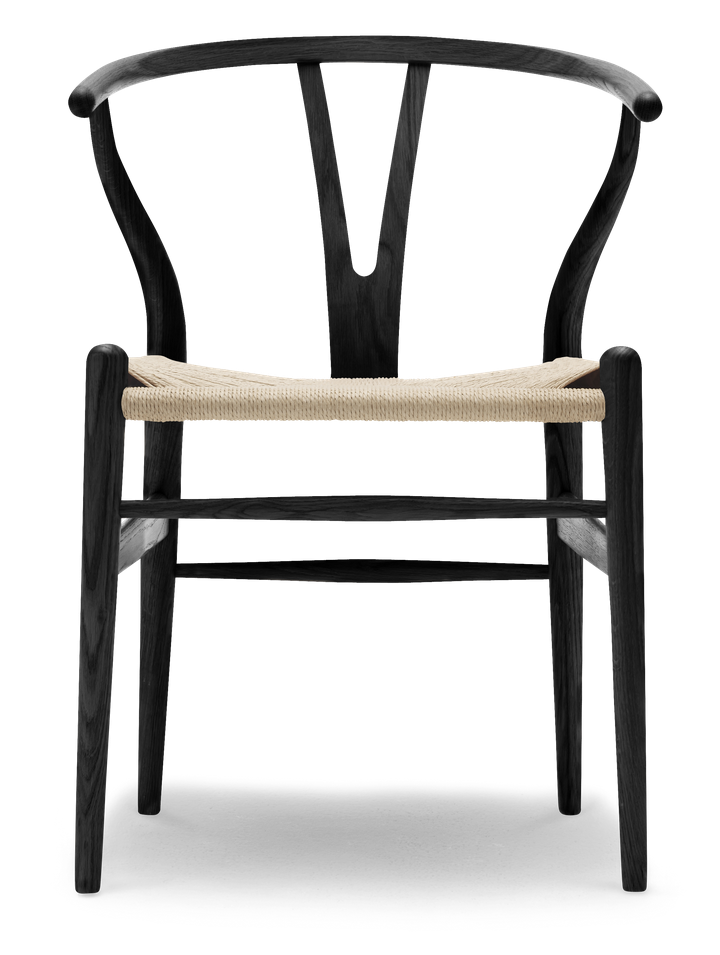 CH24 Wingbone Chair by Hans Wegner