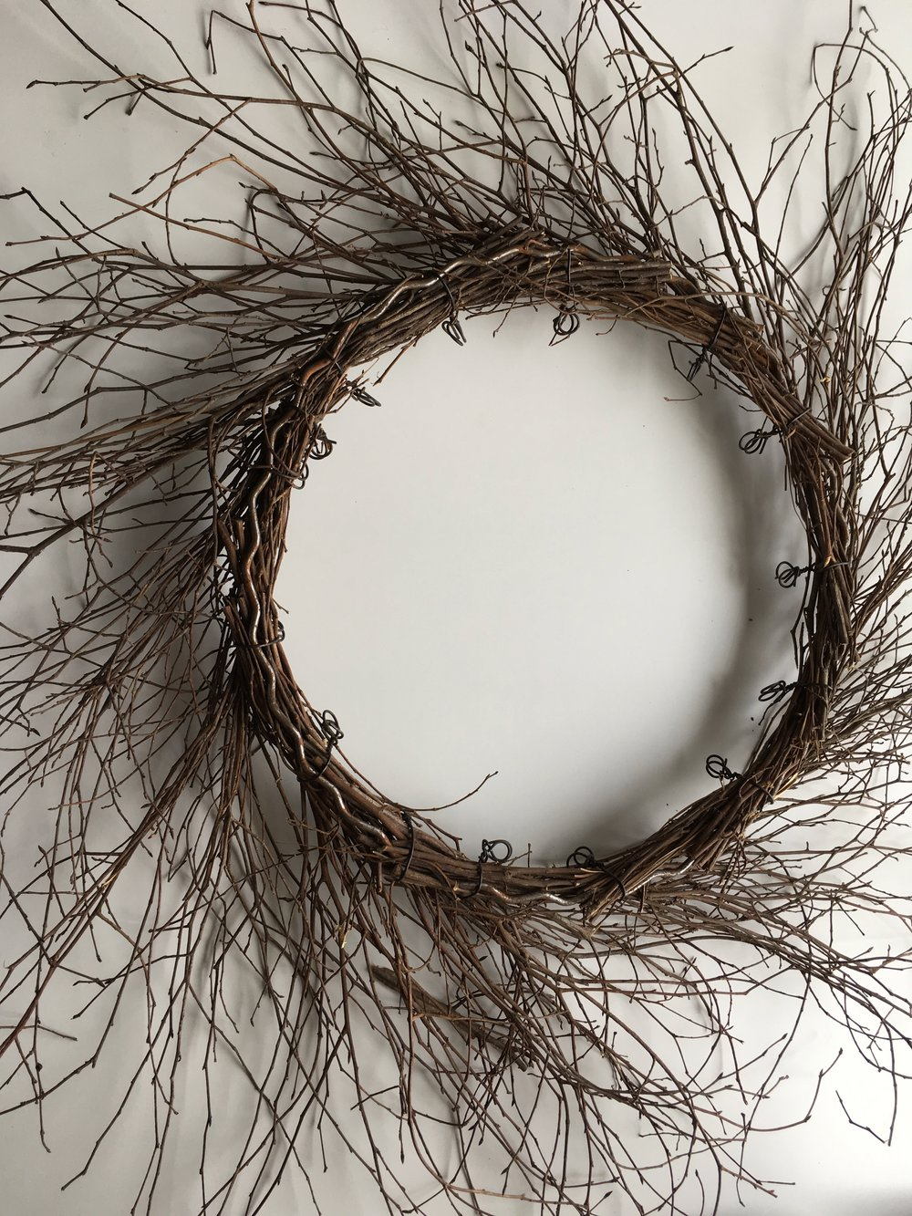 "24"" Twig wreath"