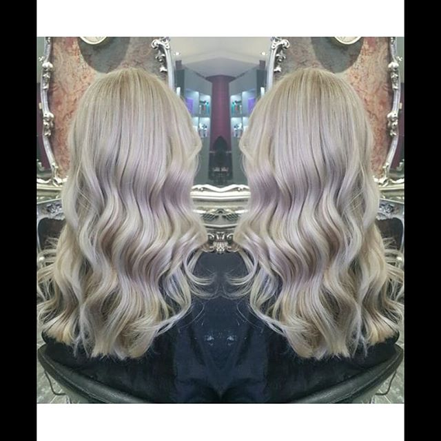 Ice queen ❄ on trend ash hair by Emily ️ #brownes #hair #sheffield