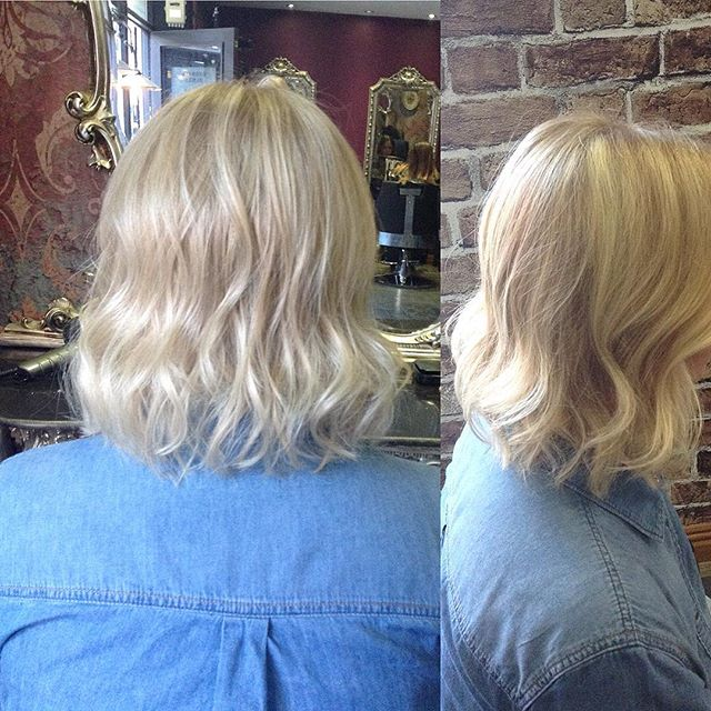 Blondie beach lob🌊🌞 Colour and cut/styling by Emily #hairdressing #follow #hair #haircut #blonde #blondehair #beachhair #inspo #ig #love #sheffield #sheffieldissuper