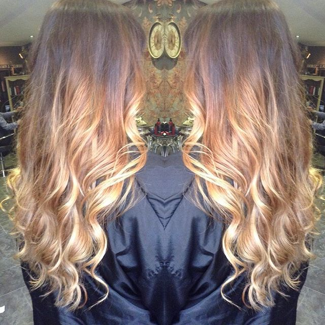 Ombré top up on babe @finnneyy by @catherinaaah ♥️⭐️