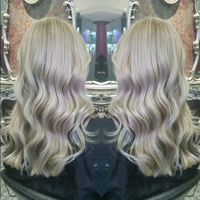 On trend Ash blonde by Emily #hair #sheffield #goals