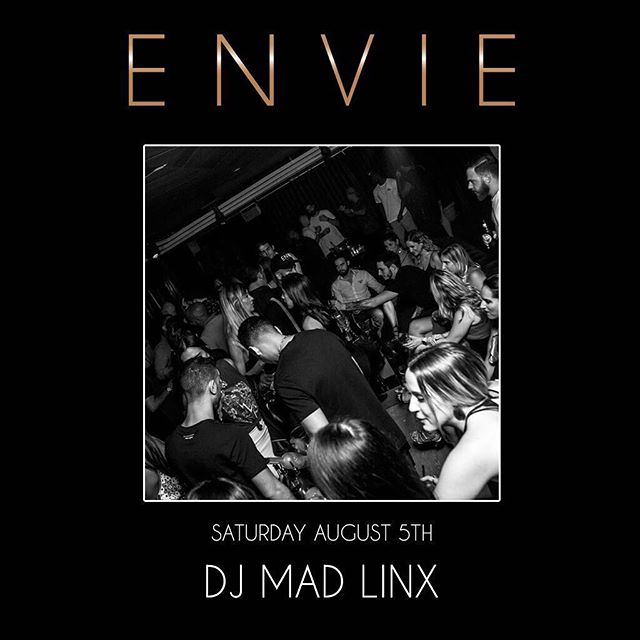 #Saturdayfever with @djmadlinx for more information contact 786.602.2332 | rsvp@enviemiami.com