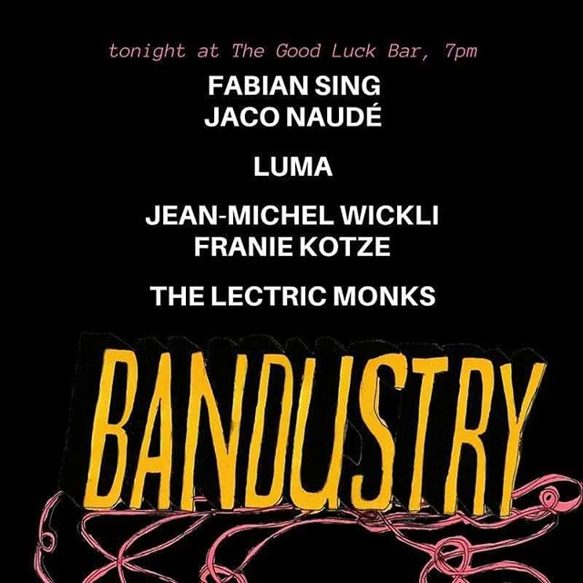 Join us tonight for the final #bandustry event of the year. After the speakers, we will also have a networking party for everyone in the music industry. Come celebrate a great year with us!