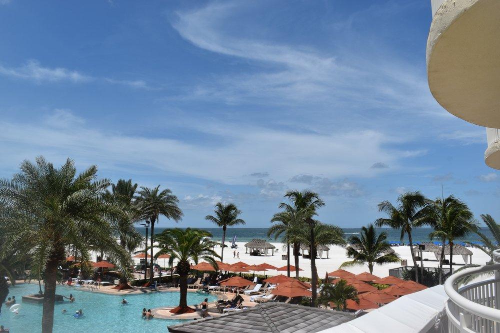 JW Marriott Pool & Beach View