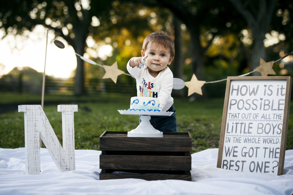 a letter to my son on your first birthday