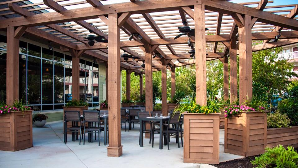 Enjoy the fresh air on our garden patio