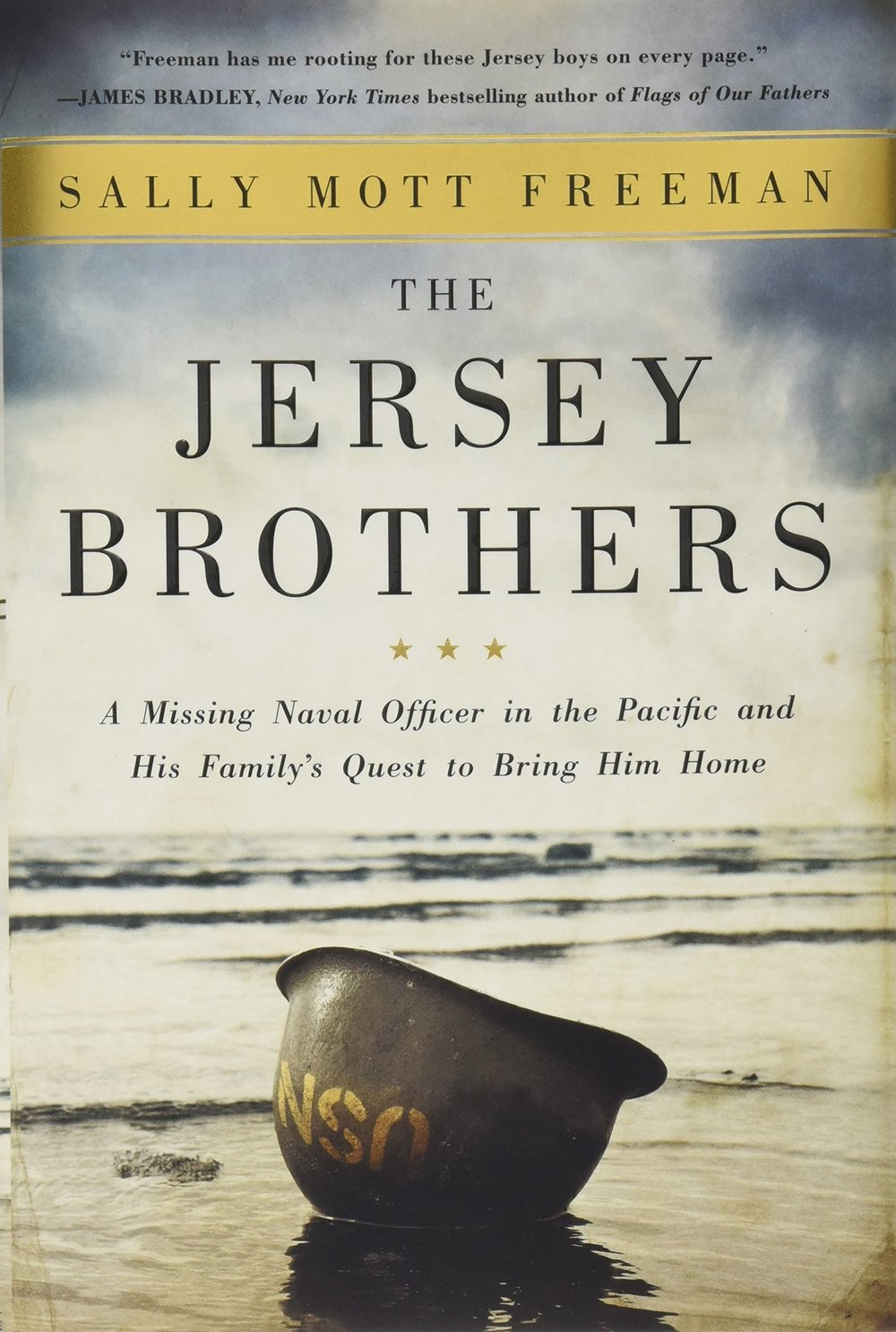 Copy of The Jersey Brothers: A Missing Naval Officer in the Pacific and His Family's Quest to Bring Him Home