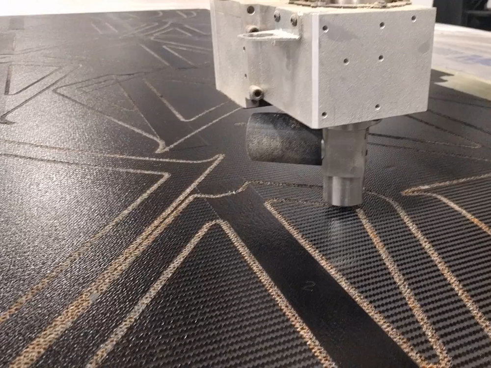 3D CNC Router - Drag & Oscillating Knives