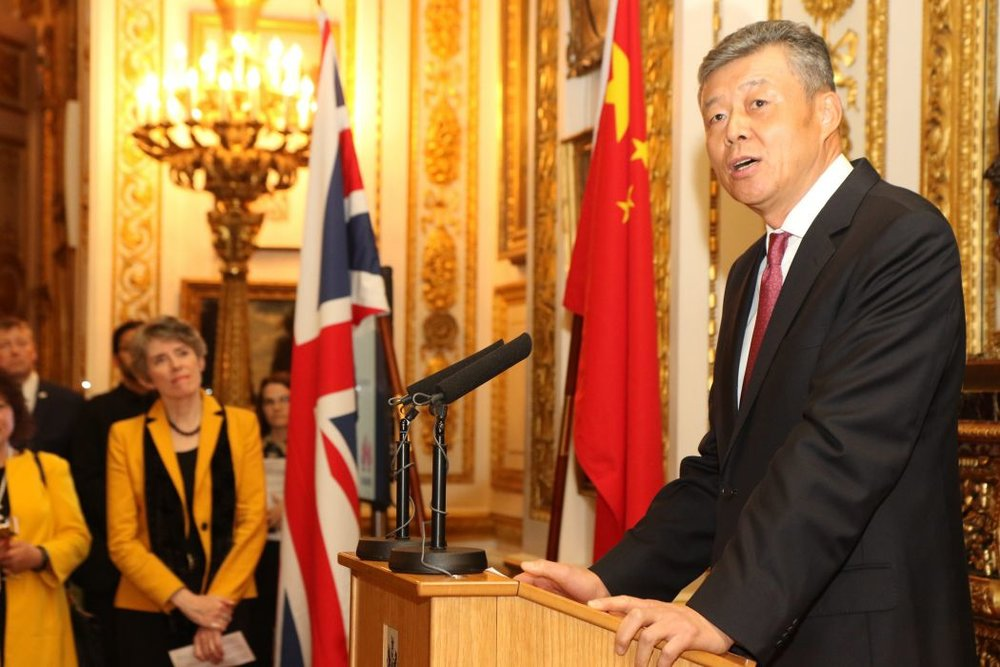 Chinese ambassador to the UK Liu Xiaoming. Photo: FCO.