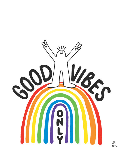 good vibes only 8 x 10 downloadable print downloadable prints