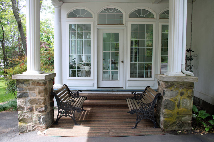 Sun porch entry