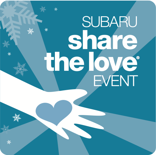 The 2017 Subaru Share the Love event happens from November 16th, 2017 to January 2nd, 2018!