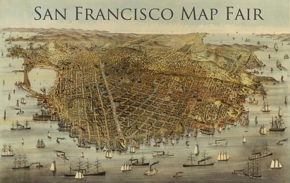 List of Exhibitors — San Francisco Map Fair