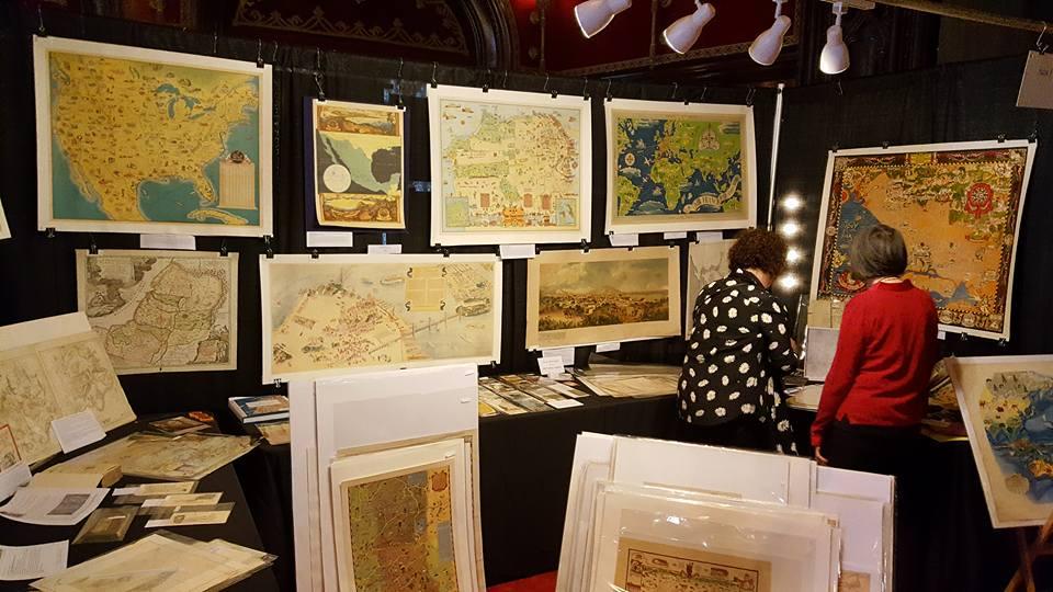2017 Gallery San Francisco Map Fair
