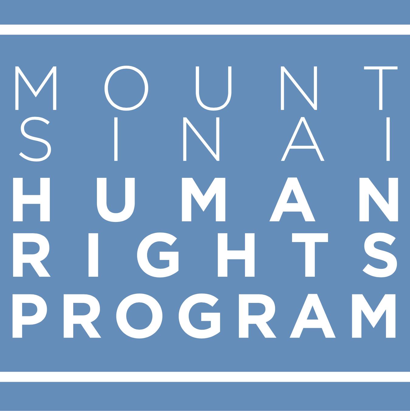 The Mount Sinai Human Rights Program
