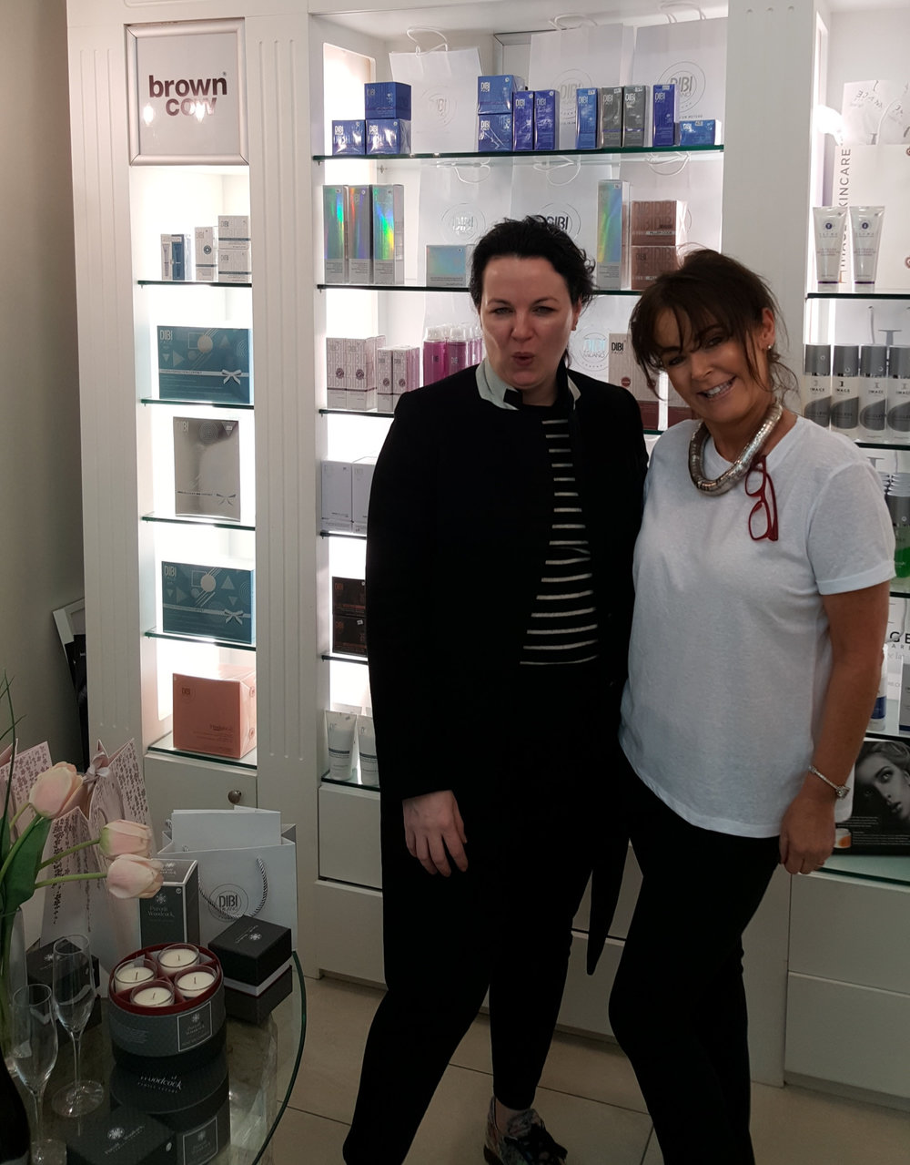 It was our great PLEASURE to welcome Triona McCarthy to our Salon for a wonderful Facial using the absolutely STUNNING Dibi Milano Products!