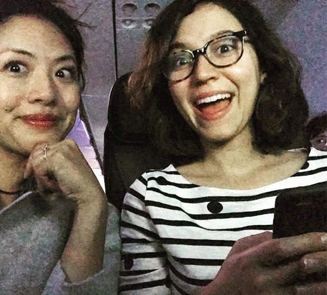 And at the crack of dawn, we're off! ✈️ Next stop: @nytvf, where @miserylovescompanyweb is officially a part of the independent pilot competition! #nytvf2017 #womenincomedy #womenofcolor #actorslife #actress #webseries #webcomedy #mlcwebseries