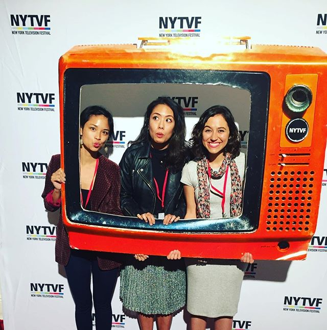 @_saraamini & @therealemilyc plus director @grenadine54 repping at @nytvf