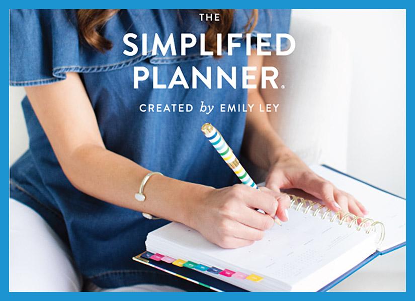 #emilyley #simplifiedplanner #officeaccessories #dailyplanner