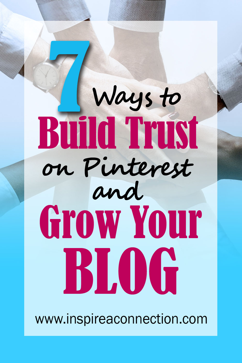 Just like your social media accounts, you'll need to take the time to build the trust of your followers and others on Pinterest. If you do this, your Pinterest experience will be very positive and can be profitable for your blog or business. #pintereststrategies #growyourblog #pinteresttips #tailwind #kwfinder #howtousekeywordsonpinterest #pinterestprintable