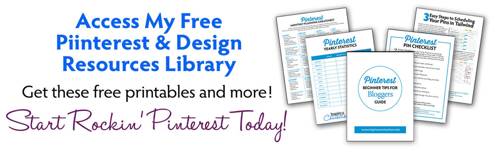 Free Pinterest and Design Resources