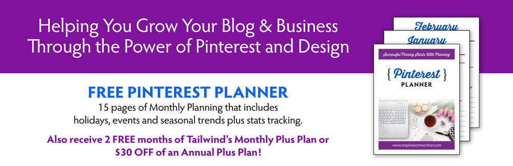 Free Pinterest Planner to Help You Grow Your Blog and Business