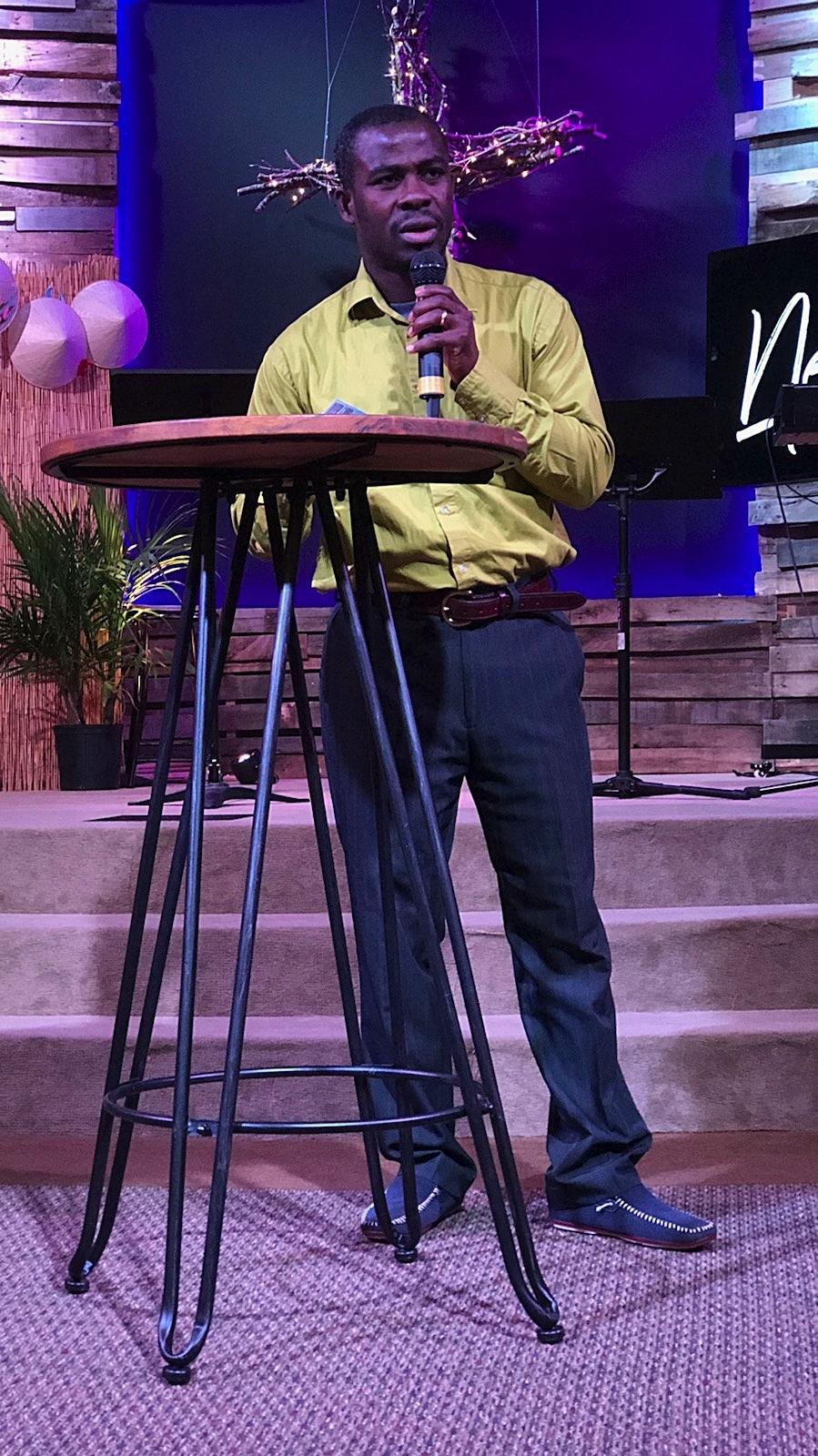 Associate Pastor Simon Hie