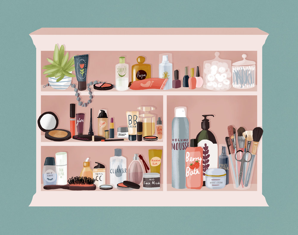 What's on Your Beauty Shelf?
