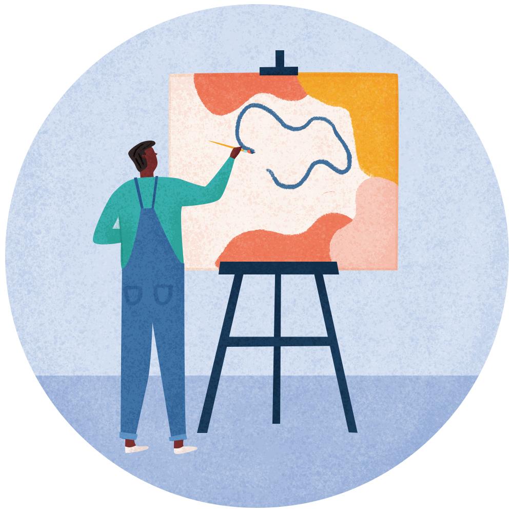1. Create art!