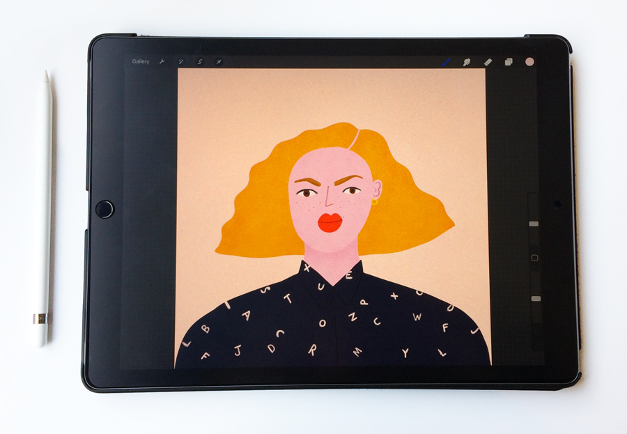 Ipad Pro And Procreate For Illustration My Experience So Far Bett Norris