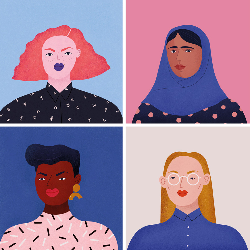 'Gals' - available as a print  here