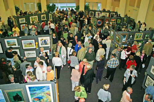 Art By The Sea in Holmes Great Hall
