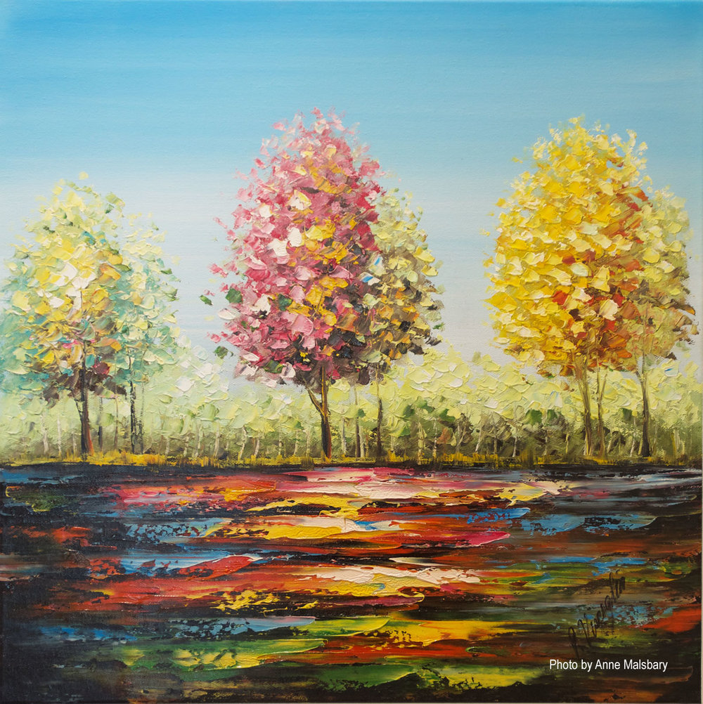 Paulette Visceglia - Three Seasons